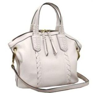 orYANY Cassie Pebbled Leather Mini Crossbody Bag